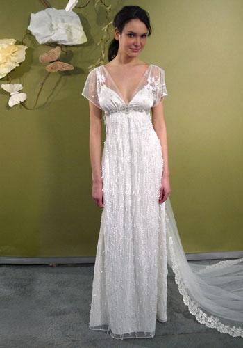 Theme thursday peaches and cream regency era inspiration for Virtual wedding dress maker