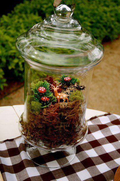 Source: http://www.mysweetandsaucy.com/2010/05/woodland-themed-1st-birthday-party/
